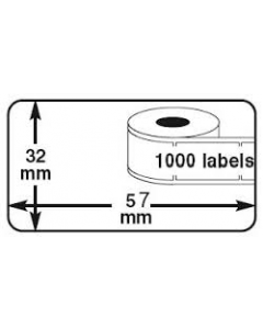 Dymo compatible labels Type 11354