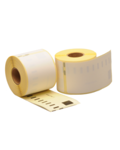 Dymo Verzendetiketten, 104mm x 159mm, 220 etiketten, blanco