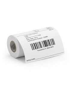 Apotheek zuilrollen Compatible Zebra Z-Select 2000D 60 receipt 80 mm breed (12 rollen) BPA vrij