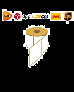 Verzendetiketten UPS 100x150 mm thermo eco permanent met perforatie 500 op rol kern 40mm