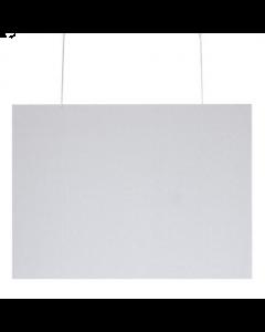 Klantenscherm Landscape - B100 x H80 cm - Hangend - incl. Ophangsysteem