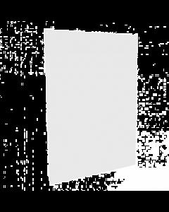 Klantenscherm Portret - B80 x H100 cm - Hangend - incl. Ophangsysteem