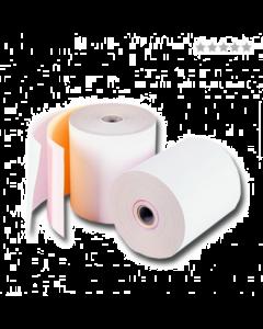 Triplorollen wit/roze/geel 76x70x12 mm